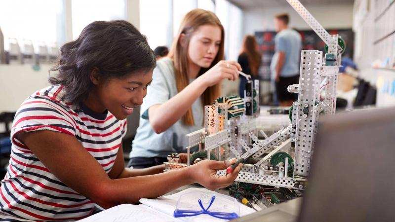 New funding from the National Science Foundation will expand the reach of Engineering for US All, a program to make engineering accessible in high school launched by UMD President Darryll J. Pines in 2018.