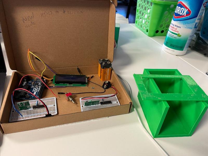 e4usa Student Project for Neighbor's Mailbox